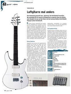 Guitar gear E-Gitarre - Yamaha RGX A2