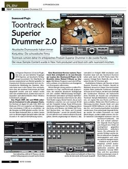 KEYS Toontrack Superior  Drummer 2.0