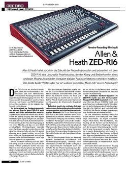 KEYS Allen & Heath ZED-R16