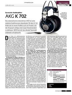KEYS AKG K 702