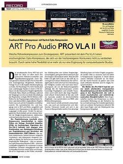 KEYS ART Pro Audio PRO VLA II
