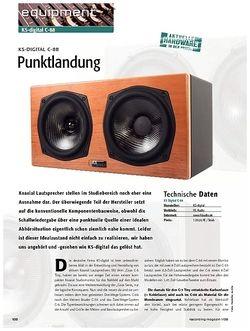 Recording Magazin KS-digital C-88: Punktlandung