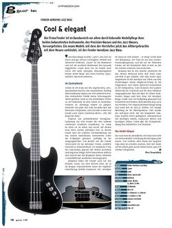 Guitar gear Bass - Fender Aerodyne Jazz Bass