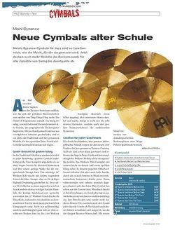 DrumHeads Instrumente & Technik: Meinl Byzance
