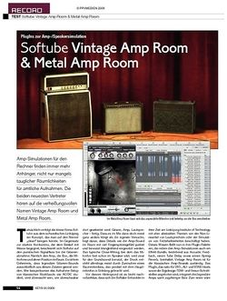 KEYS Softube Amp Plug-Ins
