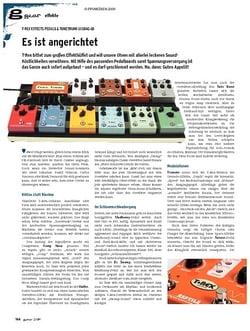 Guitar gear Effekte - T-Rex Effects Pedals & Tonetrunk Gigbag 68