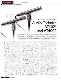 KEYS Audio-Technica AT4021 und AT4022