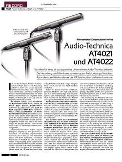 KEYS Audio-Technica AT4021 und AT4022