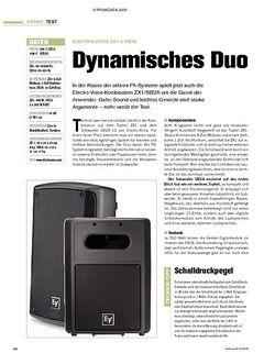 Tastenwelt Test: Electro-Voice ZX1 & SB2A - Dynamisches Duo