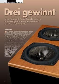 Professional Audio Drei gewinnt: KS Digital C55