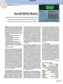 Guitar Test: Boss DR-880 Dr. Rhythm - Drum Machine/Sequencer