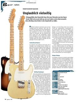 Guitar gear E-Gitarre - Fender Roadworn Telecaster