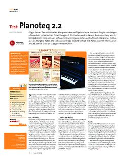 Beat Test: Pianoteq 2.2