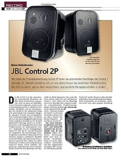 KEYS JBL Control 2P