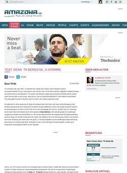 Amazona.de Test: Dean ´79 Series ML, E-Gitarre