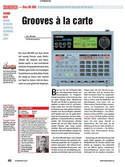 Soundcheck Test: Boss DR-880 - Rhythm Machine