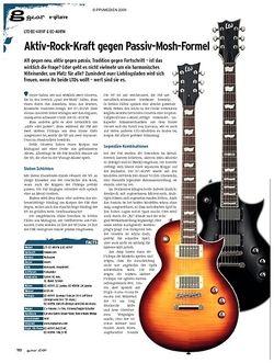 Guitar gear E-Gitarre - LTD EC-401VF & EC-401FM