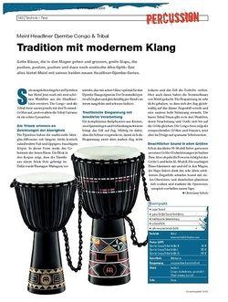 DrumHeads Instrumente & Technik: Meinl Headliner Djembe Congo & Tribal