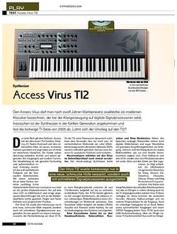 KEYS Access Virus TI2