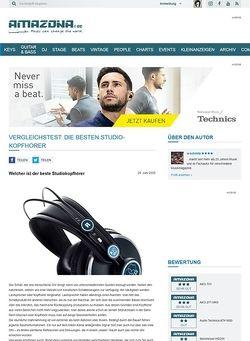 Amazona.de Vergleichstest: Studio Kopfhörer 2009