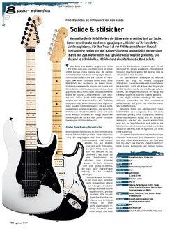 Guitar gear E-Gitarre - Fender/Jackson: Die Instrumente von Iron Maiden