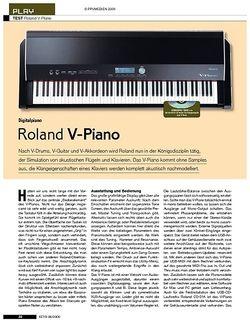 KEYS Roland V-Piano