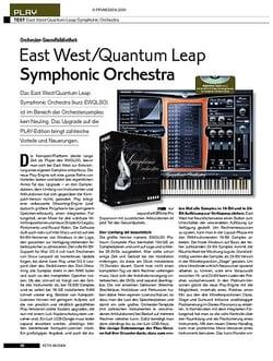 KEYS East West/Quantum Leap Symphonic Orchestra