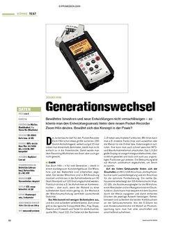 Tastenwelt Test: Zoom H4n - Generationswechsel
