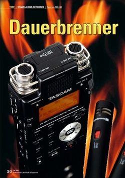 Professional Audio Dauerbrenner: Tascam DR-100