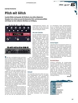 Guitar gear Effekte - Eventide Pitchfactor
