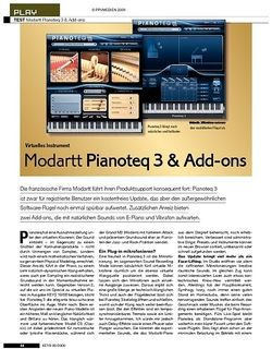 KEYS Modartt Pianoteq 3 & Add-ons