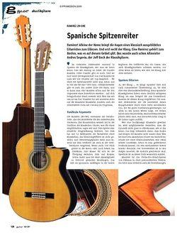 Guitar gear Akustikgitarre - Ramirez 2N-CWE