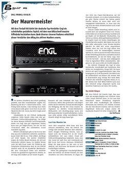 Guitar Engl Fireball 100 E635