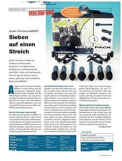 DrumHeads Instrumente & Technik: Audio-Technica MBDK7