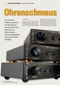 Professional Audio Ohrenschmaus:  Violectric V90, V100, V200