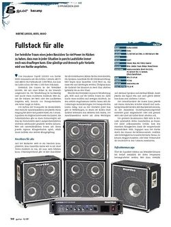 Guitar gear Bassamp - Hartke LH1000, AK115, AK410