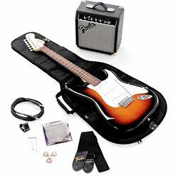SQ Affinity Strat Set/FM10G BS Fender