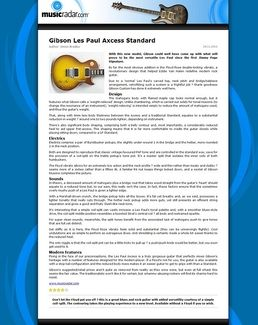 Les Paul Axcess Standard IT