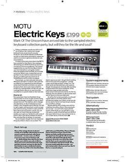 Electric Keys