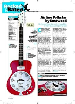 Airline Folkstar Red
