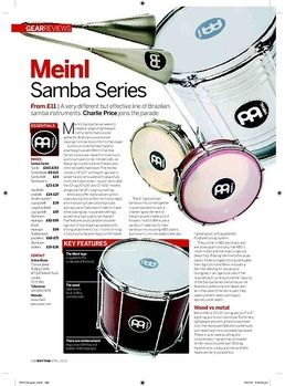 SSH3-L Samba Triple Shaker