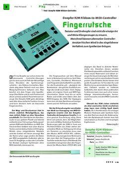 R2M V2 MIDI Ribbon Controller
