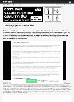 "LB552KT 14""x6,5"" Bronze Snare"