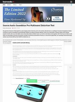 Soundblox Multiwave Pro Dist.