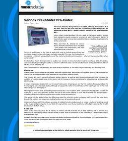Fraunhofer Pro-Codec