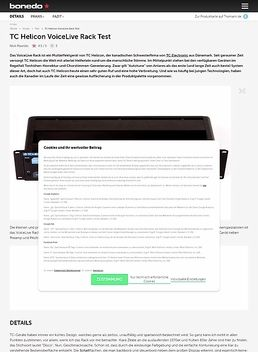 VoiceLive Rack