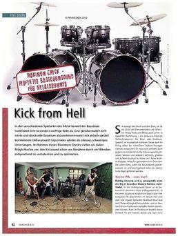 210DKF Bass Drum Doublepad