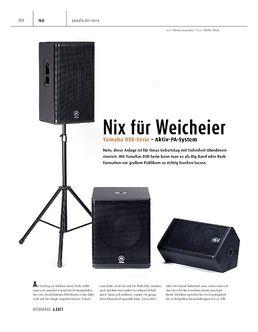 Cover Pro Yamaha DSR112