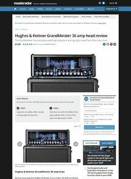 Grandmeister 36 Head