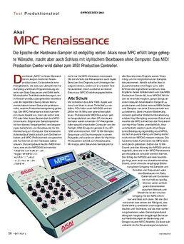 Case Akai MPC Renaissance